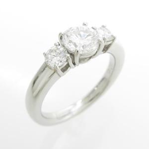 プラチナダイヤモンドリング 0.745ct・E・VS2・GOOD|komehyo