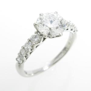 プラチナダイヤモンドリング 1.026ct・G・VS1・3EXT H&C|komehyo