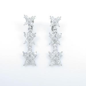ハリーウィンストン ダイヤモンドイヤリング|komehyo