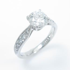【リメイク】プラチナダイヤモンドリング 1.012ct・G・SI2・VG|komehyo