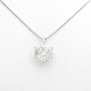 プラチナダイヤモンドネックレス 5.151ct・G・I1・3EXT|komehyo