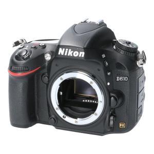 メーカ/ブランド:NIKON 商品名:NIKON D610 通称:デジタル一眼 商品ランク:中古品B