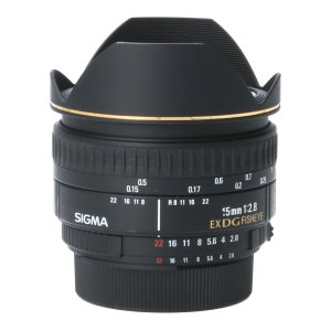 SIGMA ニコン15mm F2.8EX DG FISHEYE