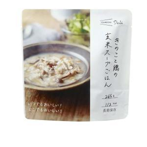 非常食 保存食 IZAMESHI Deli きのこと鶏の玄米スープごはん 635-560 IZAMESHI (B) 非常用食品...