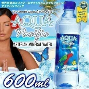 フィジーのお水 アクアパシフィック 600ml×24本 水 ...