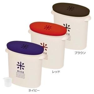 セール 米びつ おしゃれ 保存容器 お米袋のままストック5kg用 HB-2166 パール金属 (D)...