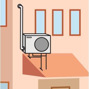 エアコン工事費 A−3 (〜5.4kWまで) 屋根置き設置型|komeri