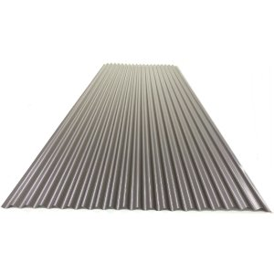 カラートタン波板 0.19mm厚 新茶 6尺 10個セット|komeri