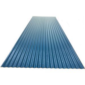 カラートタン波板 0.19mm厚 ブルー 6尺 10個セット|komeri