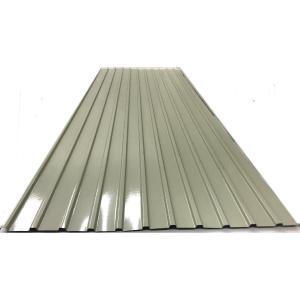 カラートタン角波 0.17mm厚 クリーム 7尺 10個セット|komeri
