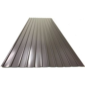 カラートタン角波 0.17mm厚 新茶 6尺 10個セット|komeri