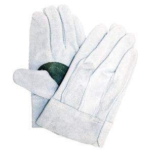 ●厳選牛革を使用した職人向け革手袋です。●強度抜群の黒当付です。