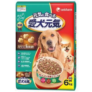 愛犬元気 ささみ・ビーフ・緑黄色野菜入り 6kg|komeri