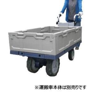 電動4輪運搬車用 コンテナボックスセット|komeri