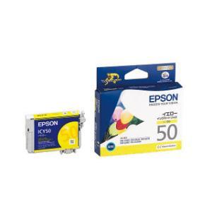 エプソン インクカートリッジ ICY50 イエロー|komeri