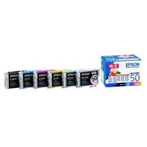 エプソン インクカートリッジ IC6CL50 6色パック...