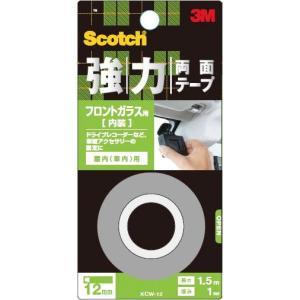 3M 強力両面テープ フロントガラス用 KCW−12|komeri