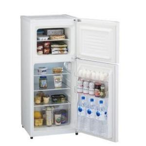 ハイアール 121L 2ドア冷蔵庫 JR‐N121A(W) ホワイト|komeri