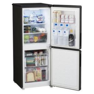 ハイアール 148L 2ドア冷蔵庫 JR−NF148A(K) ブラック|komeri