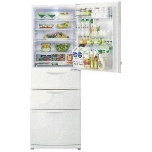 アクア 4ドア冷凍冷蔵庫 AQR−H36 ホワイト 355L|komeri
