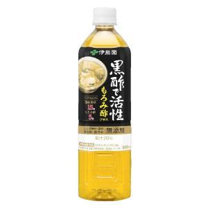 伊藤園 黒酢で活性もろみ酢 PET900ml 12個セット komeri