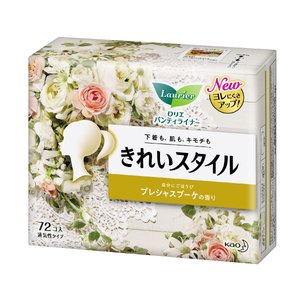 花王 ロリエきれいスタイル スパークリングフルーツ 72個入 komeri