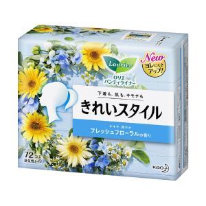 花王 ロリエきれいスタイル フレッシュフローラル 72個入|komeri