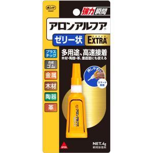 コニシ アロンアルファ EXTRA ゼリー状 4gの商品画像|ナビ