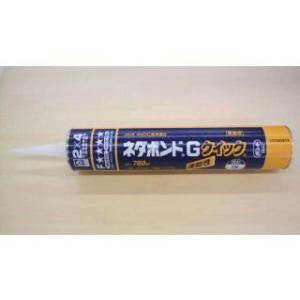 ツーバイフォー工法での木質床組用です。床板と根太の接着などに使用します。