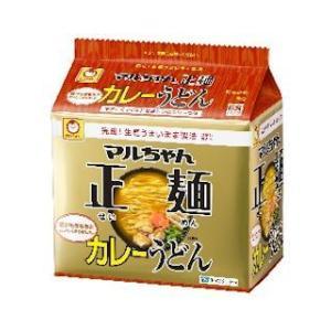 東洋水産 マルちゃん正麺 カレーうどん 5食パック 6個セット