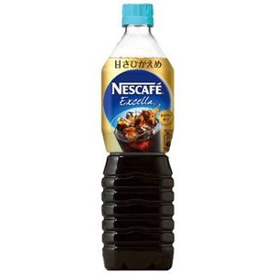 ネスカフェ エクセラ ボトルコーヒー 甘さひかえめ 900ml 12個セット|komeri