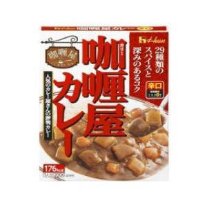 ハウス カリー屋 カレー 辛口 10個セット komeri