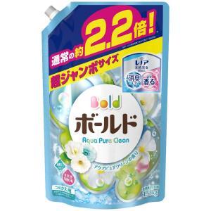 P&Gボールドジェル アクアピュアクリーンの香り つめかえ用 超ジャンボサイズ 6個セット|komeri