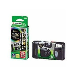 フジフィルム 1600ハイスピード 使い捨てカメラ FL39|komeri