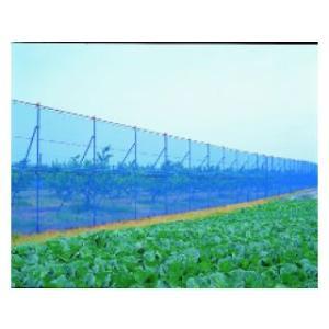 防風ネット 1×50m ブルー #4−75 komeri