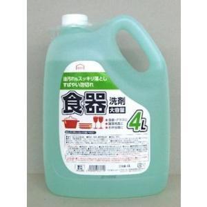 コメリセレクト 業務用食器洗剤 4L|komeri