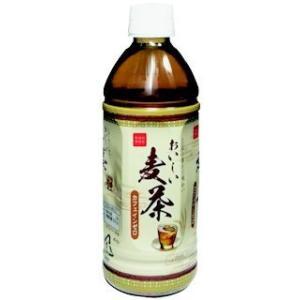 おいしい麦茶 PET 500ml 24個セット