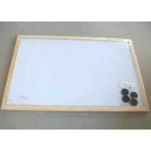 木枠ホワイトボード 450×600 MBR4560|komeri