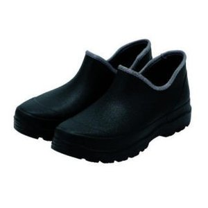 紳士 かる〜い防水ショートブーツ ブラック 25.5〜26.0cm komeri