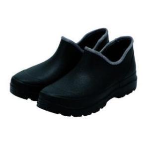 紳士 かる〜い防水ショートブーツ ブラック 26.5〜27.0cm komeri