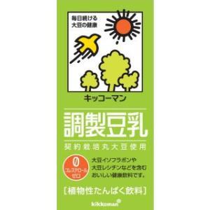 キッコーマン 調製豆乳 1L 6個セット komeri