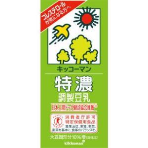 キッコーマン 特濃調製豆乳 1L 6個セット