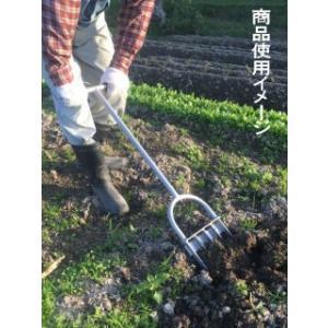 スチール土おこし鍬|komeri