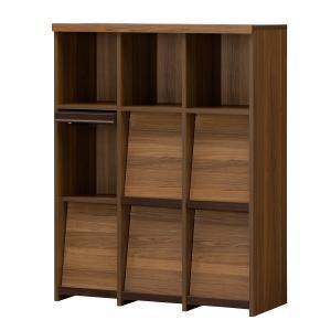 書棚セパルテック SEP−1295F ダークブラウン|komeri