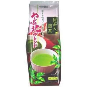 やぶ北ブレンド 抹茶入煎茶 200g 10個セット|komeri