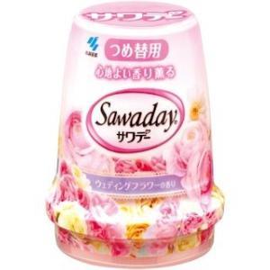 小林製薬 サワデーつめ替 ウェディングフラワーの香り 140g|komeri