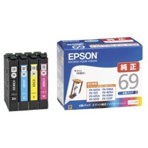 エプソン インクカートリッジ IC4CL69 4色パック|komeri