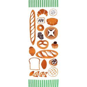 手ぬぐい 額縁 Love Bread パン ベーカリー 本染 日本製 和雑貨 Airashika て...