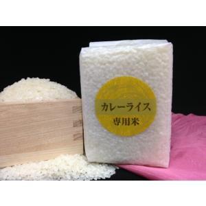 少量パック お試しに カレーライス専用米(三合:450g)|komeya-hinode
