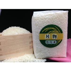 少量パック お試しに 丼物専用米(三合:450g)|komeya-hinode
